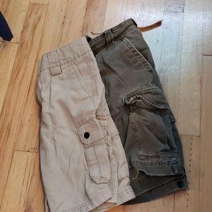 Abercrombie and Shaun White cargo shorts size 10